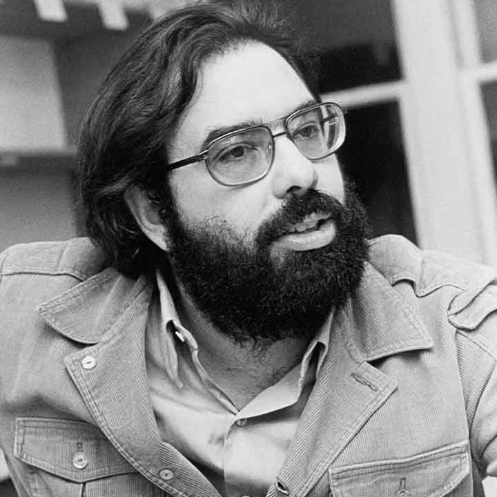 "Francis Ford Coppola gained fame by directing the three Godfather films, which he readily admitted ""made me,"" not the reverse."