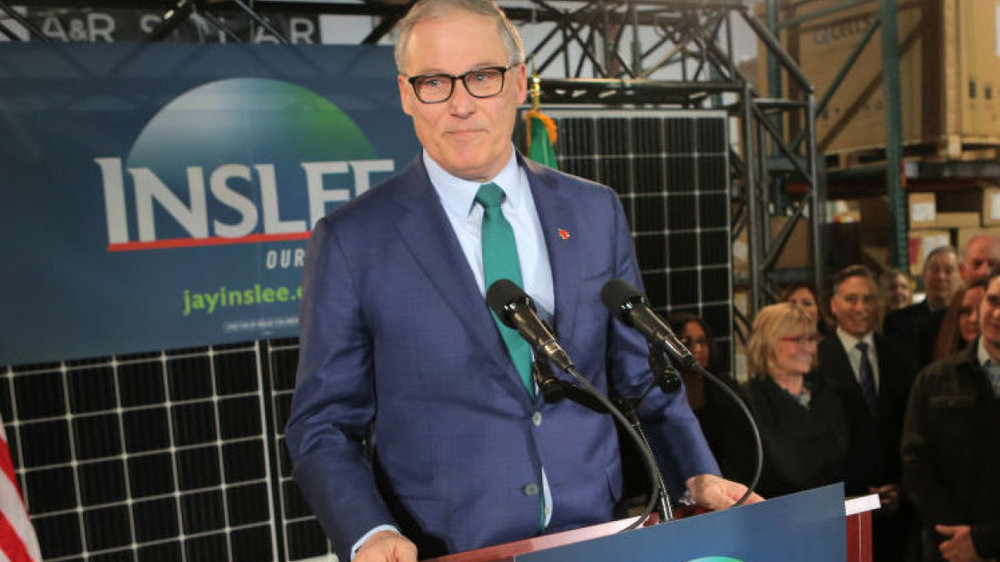 Washington Governor Jay Inslee is one of seven declared or soon-to-declare candidates running for president who is 65 years or older. President Trump is 72. Based on current polls, if Joe Biden enters the race as expected, he will be the Democratic frontrunner. Biden is 76. His closest challenger is Bernie Sanders who is 77.