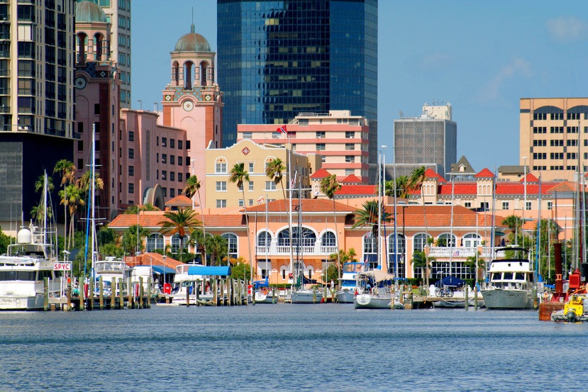 arieal of waterfront and downtown from Vinoy.jpg