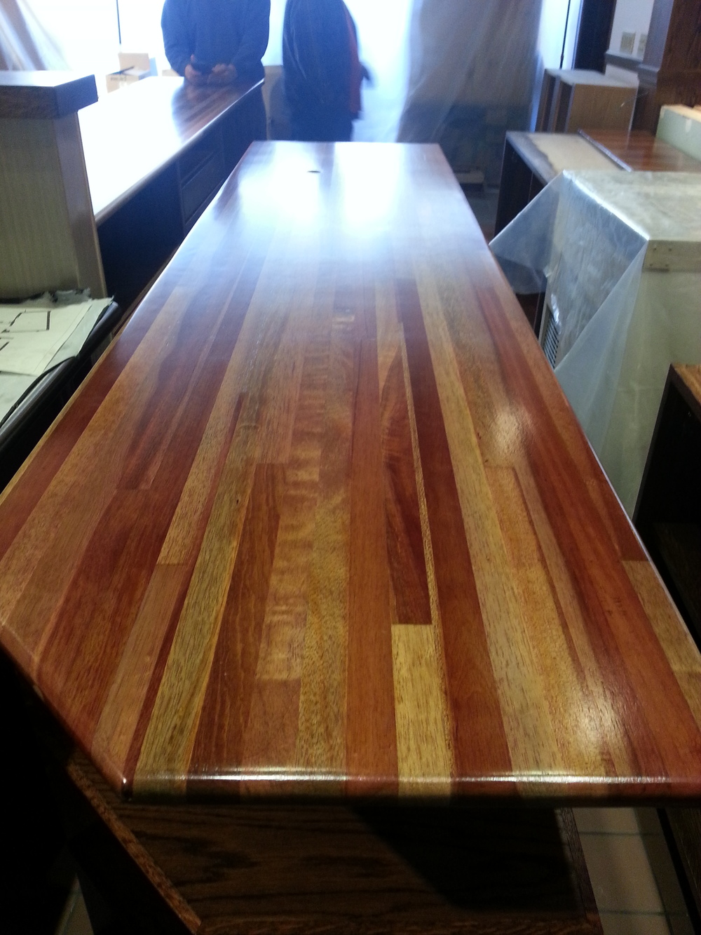 Mahogany Bar Top Restoration