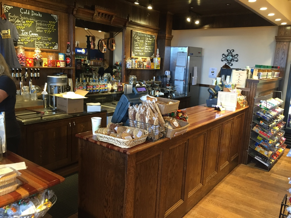 Gift Shop and Soda Fountain Bar at The Mohonk Mountian House-New Paltz NY