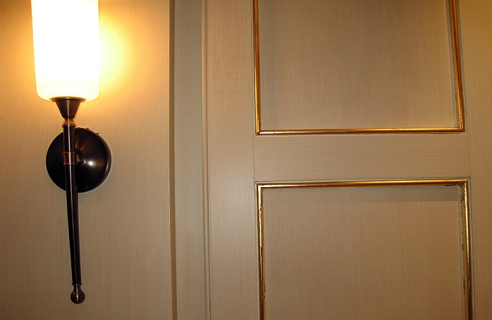 Soft Strie: Strie and gilding. Carnegie Building. Avenue of the Americas, NYC. Client: Zeckendorf Development, LLC.