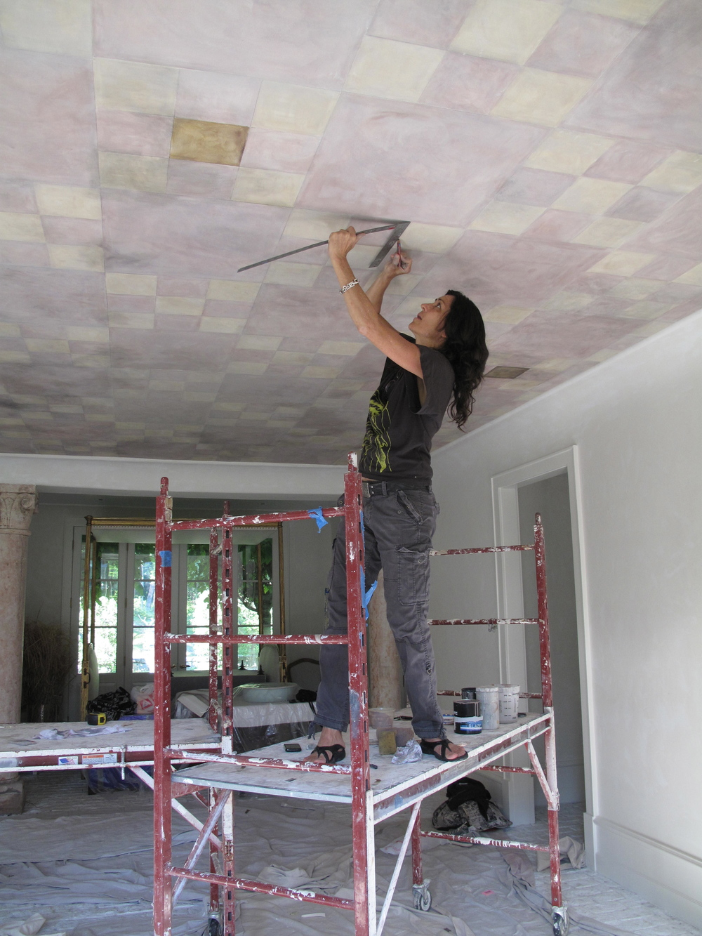 Work on ceiling.JPG