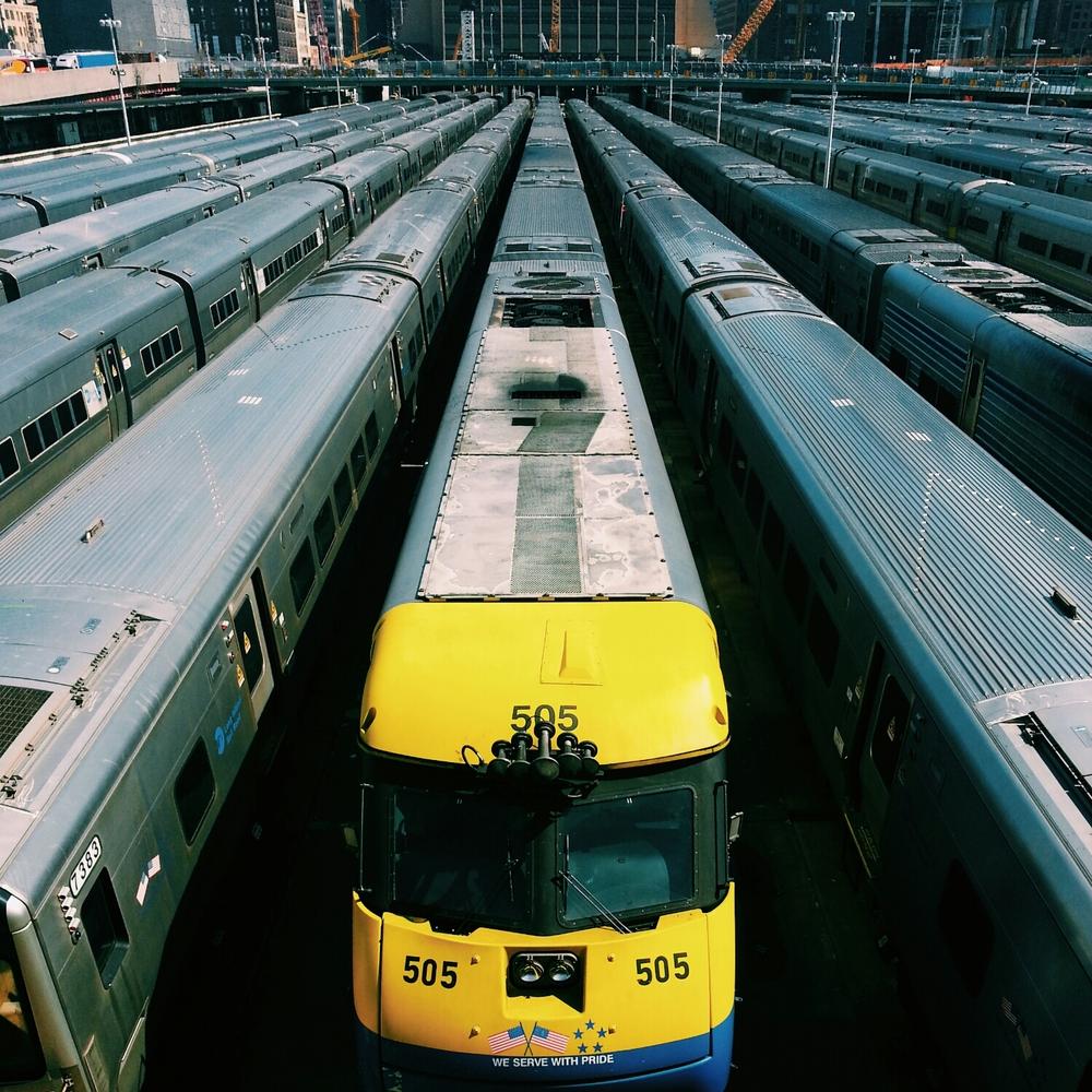 Hudson Train Yard