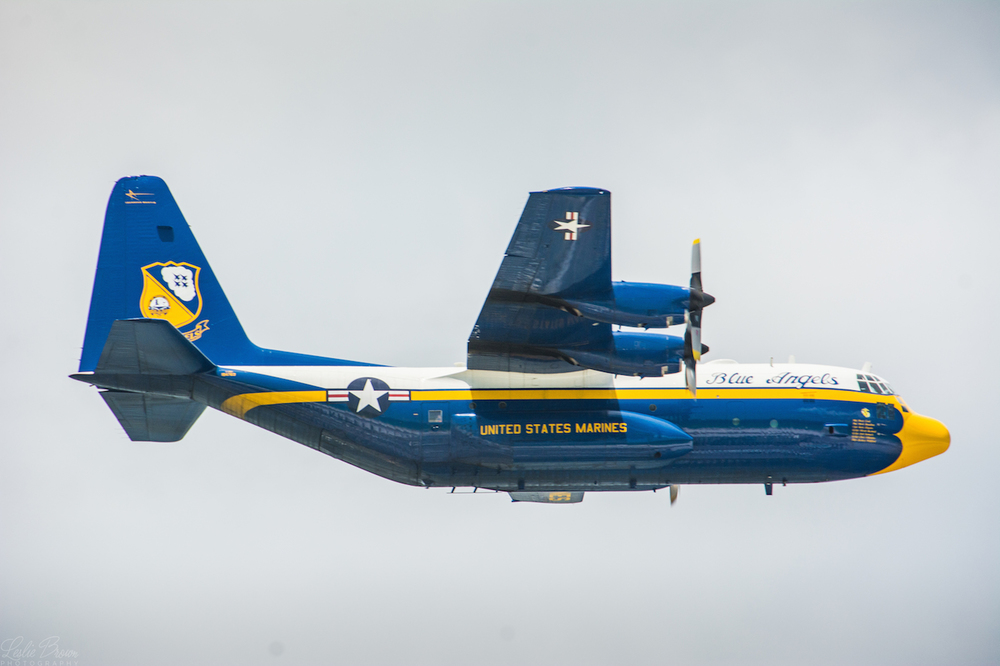 Fat Albert Blue Angels - Leslie Brown