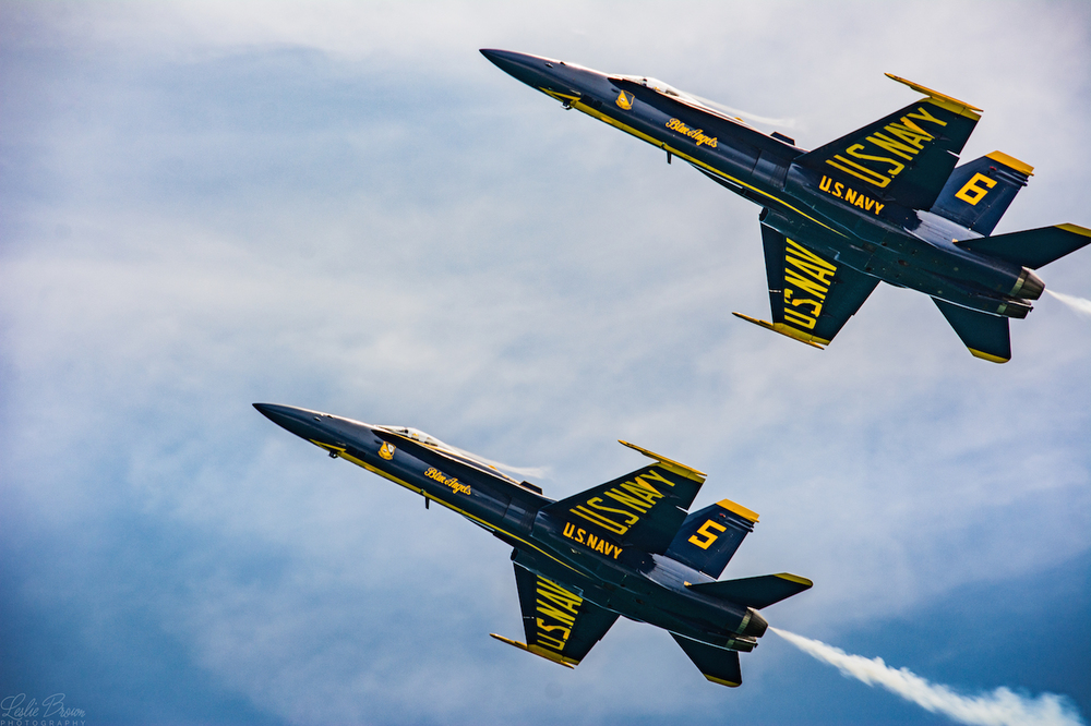 2 Blue Angels - Leslie Brown
