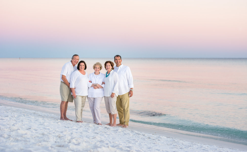 Destin Family Photography with Leslie Brown