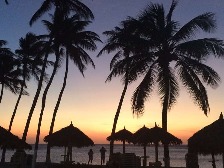 90% of my pictures from Aruba are of the sunset because they are unreal every day.