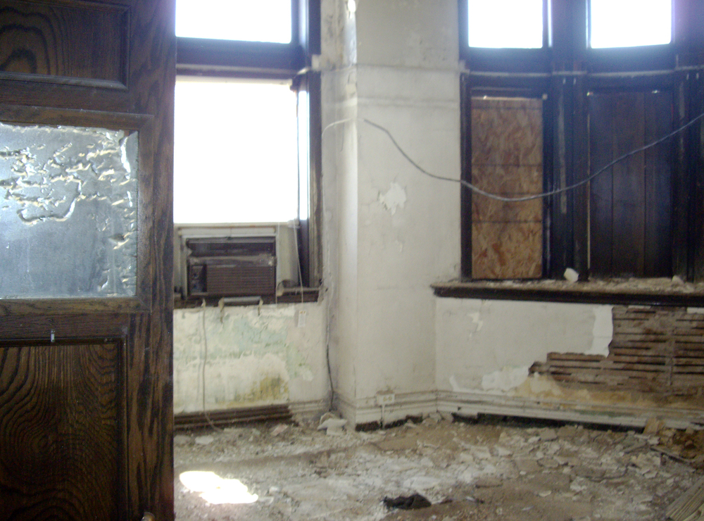 OFFICE BEFORE RESTORATION