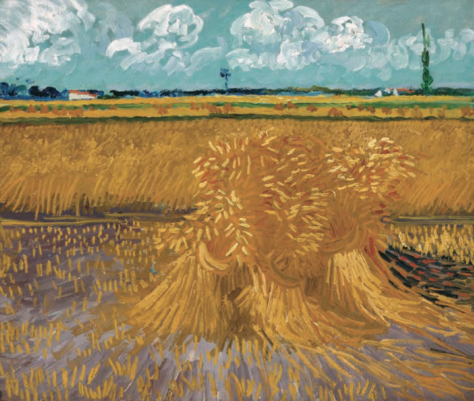 Wheatfield with Sheaves