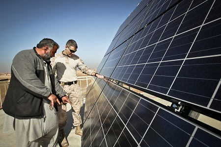 New solar-powered packing facility could change supply-demand paradigm for Afghan farmers