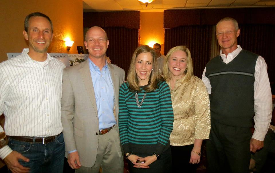 Newmont Mining Employees- Randy Engel, Steve Gottesfeld, Brooke Bacon, Tarrah D'Arenzo, John Mudge