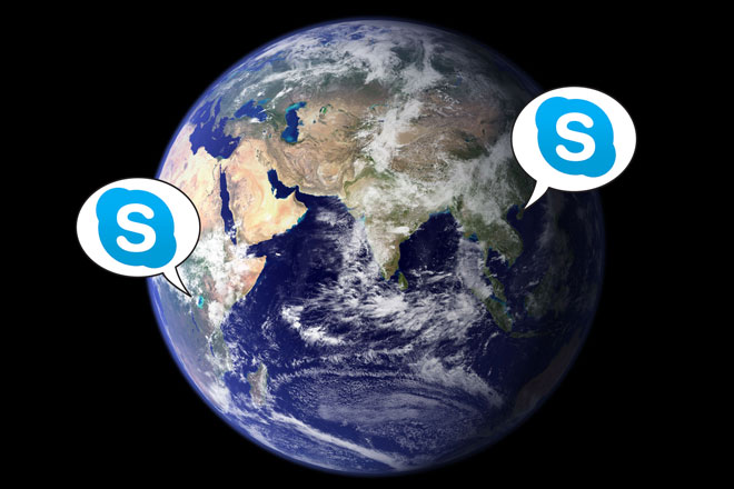 Skype_Earth