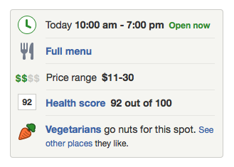 San Fransisco Yelp Review with Health Score