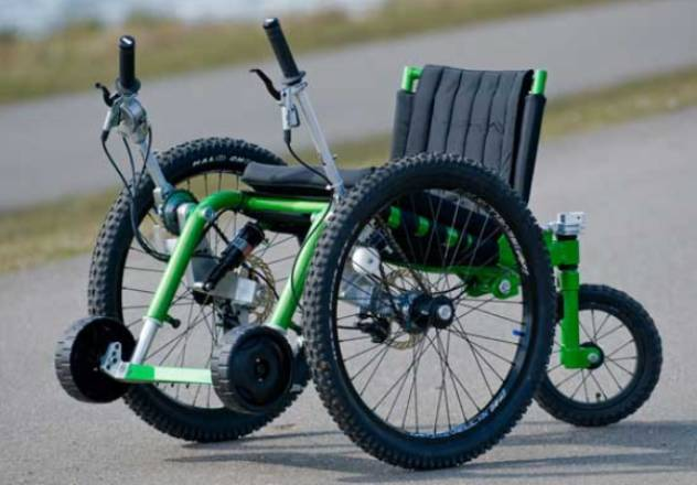 Mountain Trike Wheelchair