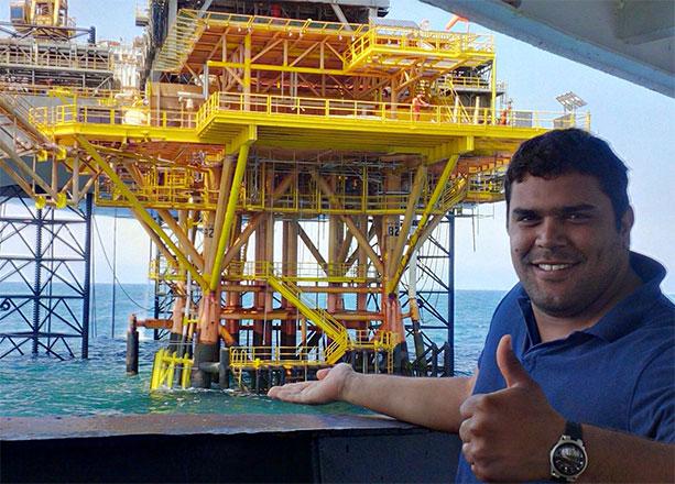 Oil-rigg