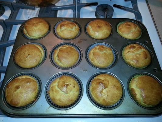 banana flavored muffins