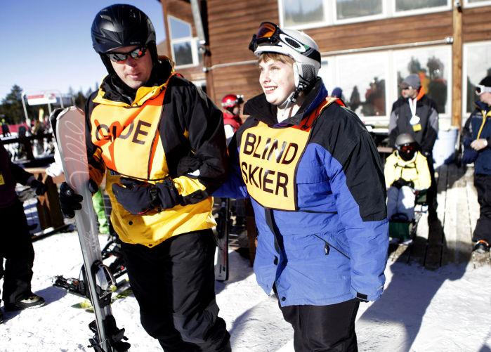 ski for light skier