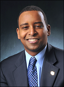 Joe Neguse was appointed as DORA Executive Director in June 2015.