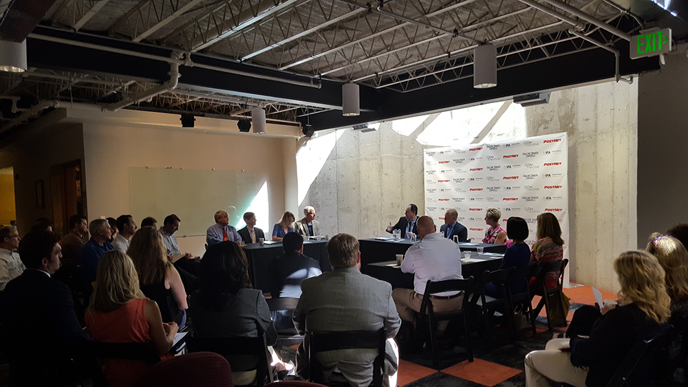 It was a full house for the @OurFranchise Campaign Kickoff at PostNet International Franchise Corporation in downtown Denver, Colorado.