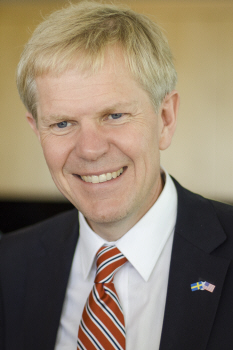 Ambassador of Sweden to the United States, Björn Lyrvall