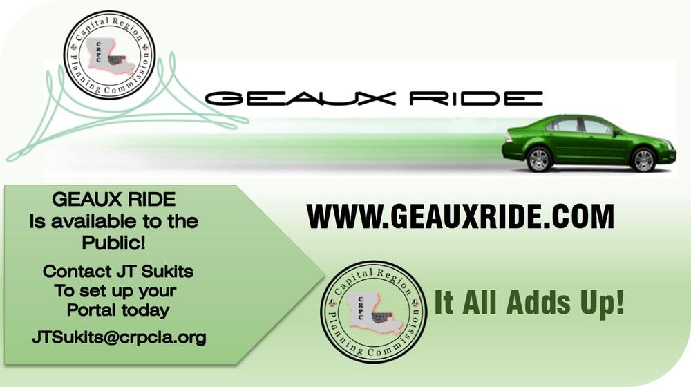 Geaux Ride