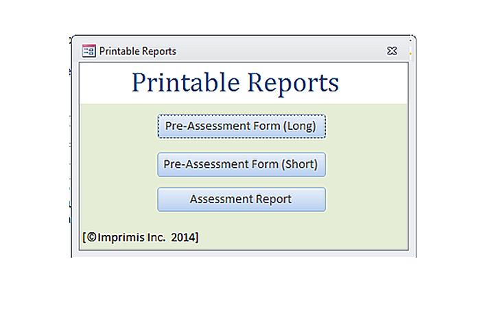 Printable Reports