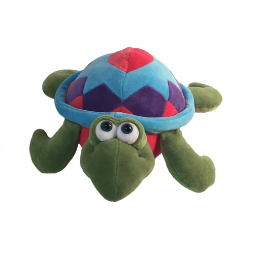 Lil Turtle Green Multicolored Large 12 Inches Diameter Sea