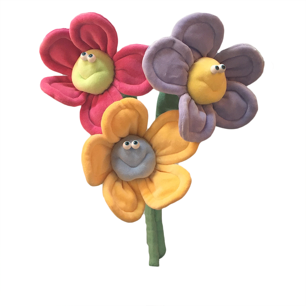 Happy Flower Bouquet Soft Sculpture | Babee Bloomers Collection