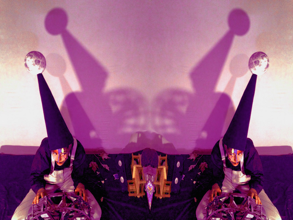 Charlie Rae, Shadow puppeteer and performance artist from Vancouver, BC