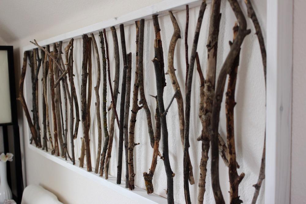 diy branch art