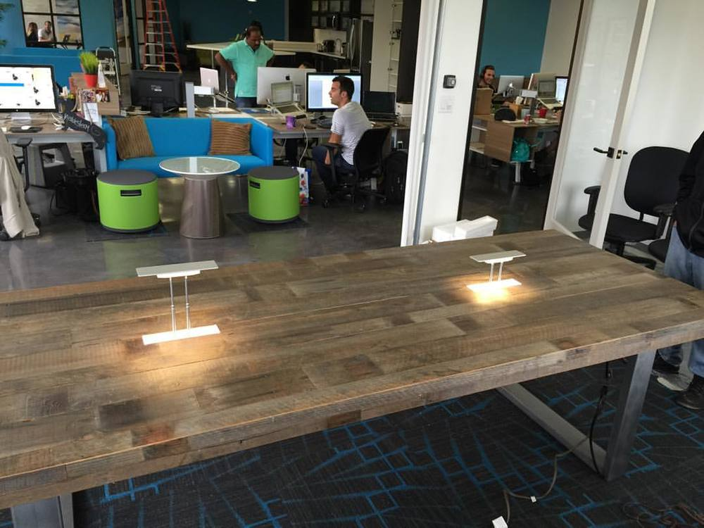 Conference Table with built in lights