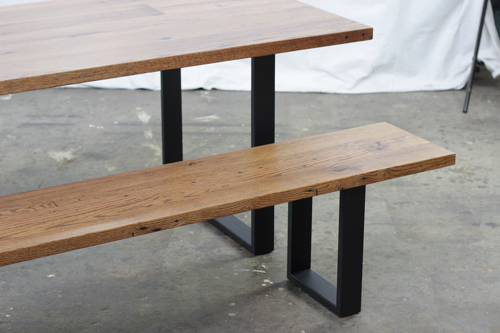 Reclaimed Oak Dining Table