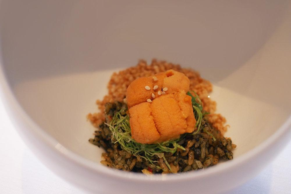 Sea Urchin Bibimbap