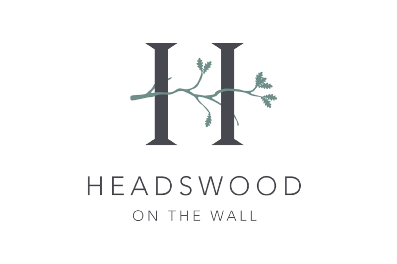Headswood on the Wall branding