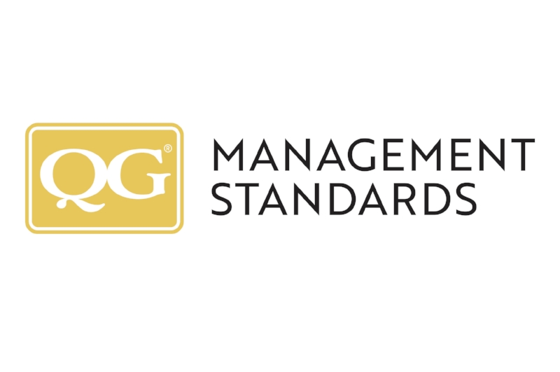 QG Management Standards branding