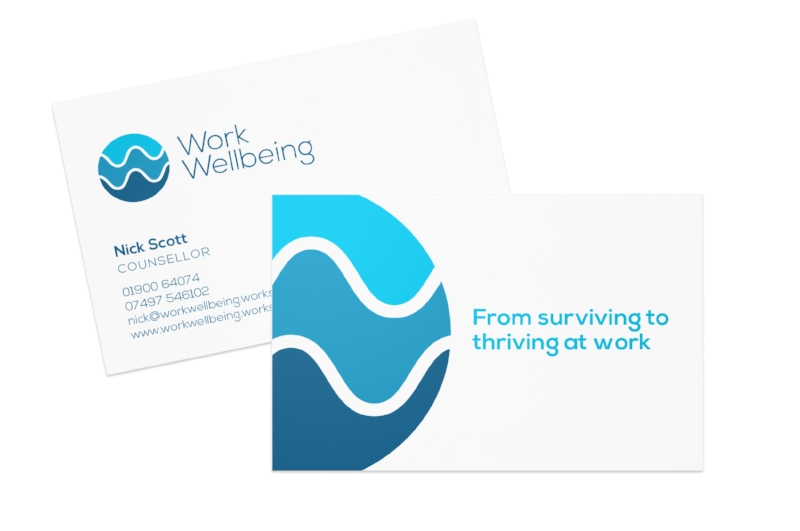 Work Wellbeing branding