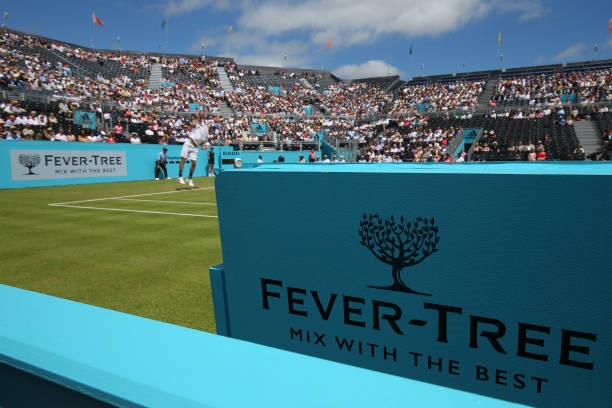 'Mix with the best'. The new advertisement for Fever-Tree and their association with the Queen's Club.