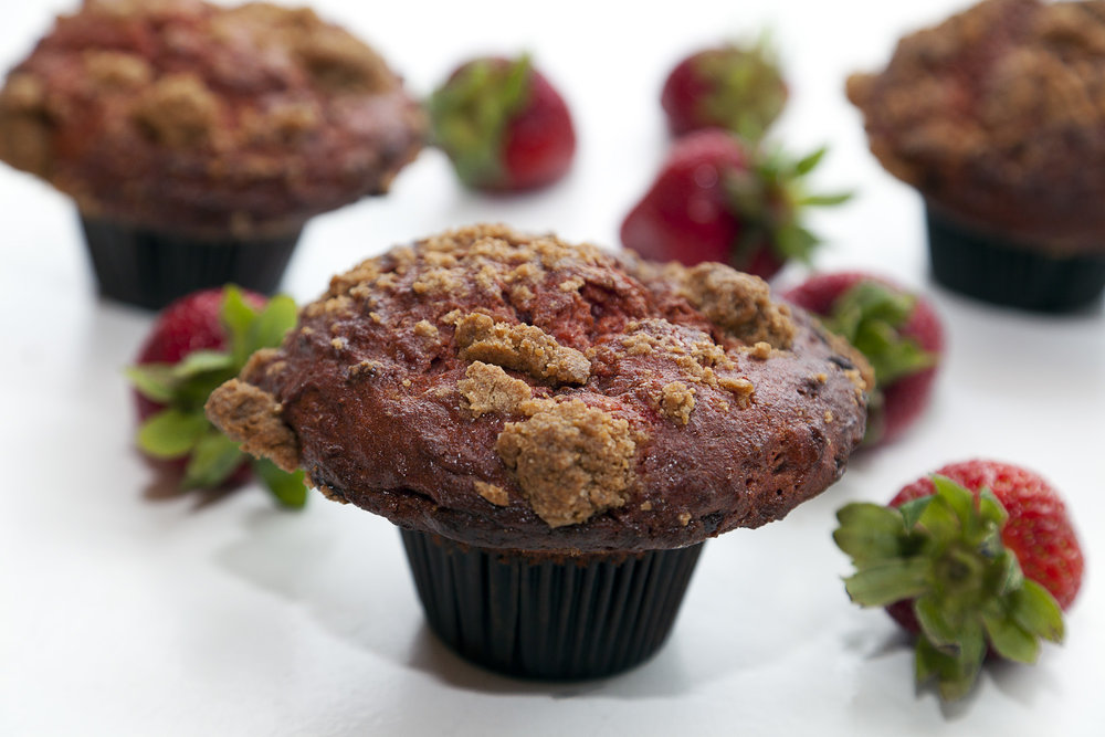 Strawberry Shortcake Muffin
