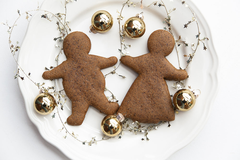 Gingerbread Peeps $2.5 - Warm & spicy! A classic gingerbread cookie for all the good boys and girls of the world.