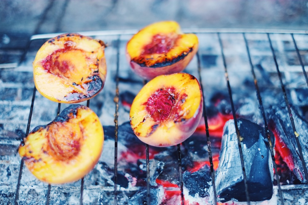 BBQ'D Peaches