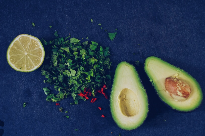 Avocado with Chilli and coriander on toast | Millycundall.com