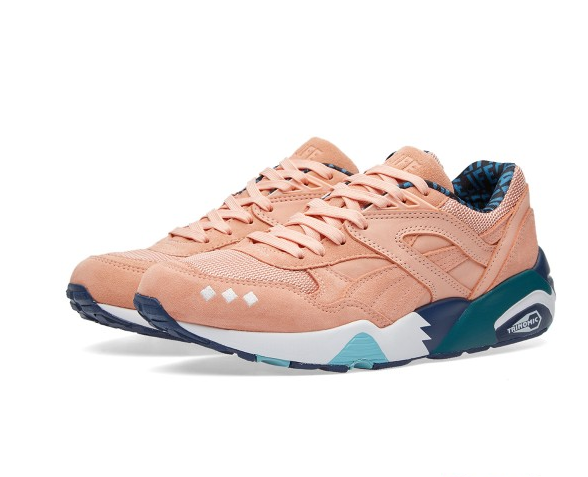 Puma x Alife R698 Peach Bud & Lyons Blue £99.00 These are my ultimate spring/summer kick. Wholly impractical as you know that suede will get trashed if it so much as looks at some denim or goes anywhere near a puddle but I can just wear them indoors can't I?  CLICK TO BUY