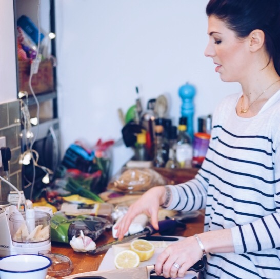 Photo shoot with Chef Sophie Wright | millycundall.com