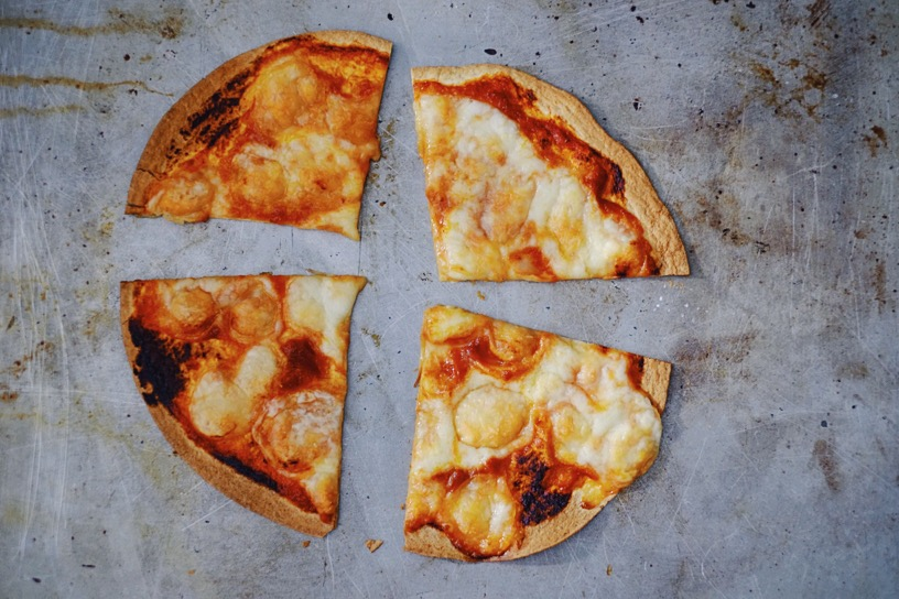 speedy pizza with kidchup | millycundall.com