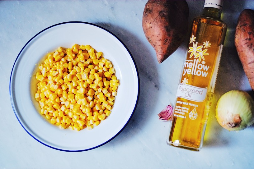 Recipe : Sweet potato and sweet corn soup | millycundall.com