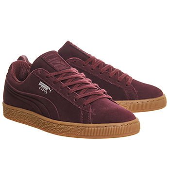 MAMA NEEDS KICKS : TOP 5 TRAINERS YOU NEED NOW | puma suede wine tasting