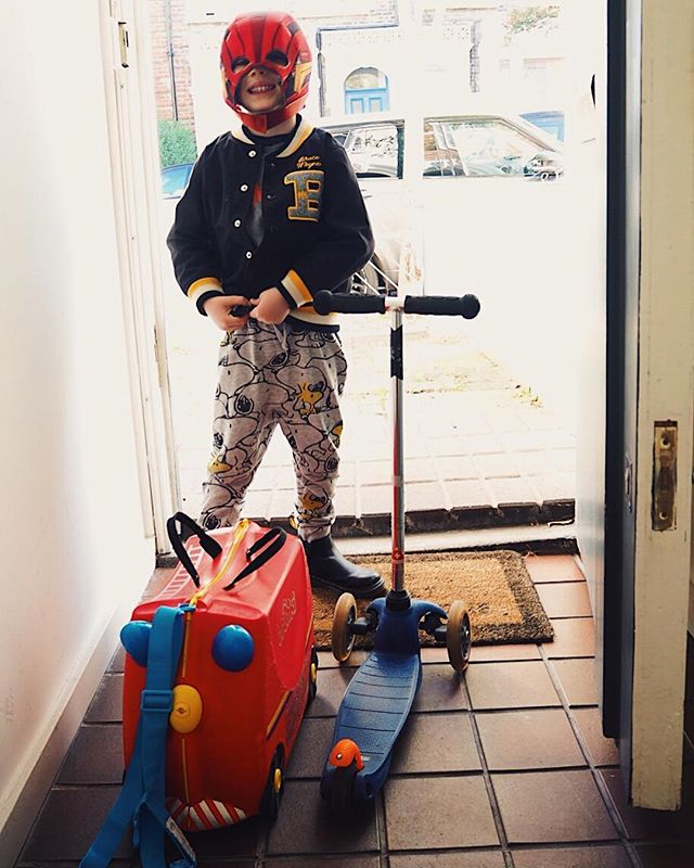 Missing my sidekick 😢. This was how he rolled out for a couple of nights away with his dad #casual. Luckily, you guys have kept me busy with loads of orders so I'm packing your goodies and counting the hours until this guy's back and I can piss him off with lots of 'swet' kisses as he calls them👍🏻 . . . . .  #motherhood #motherhoodrising #thehappynow #motherhoodunplugged #letthekids #thatsdarling #livethelittlethings #honestmotherhood  #thepursuitofjoyproject #uniteinmotherhood #familyfirst #documentlife #momentsofmine #millyskidchup #honestmotherhood #liveunscripted #childhoodunplugged #candidchildhood #letthembelittle #ig_motherhood #thatauthenticfeeling #singlemumlife #singlemum
