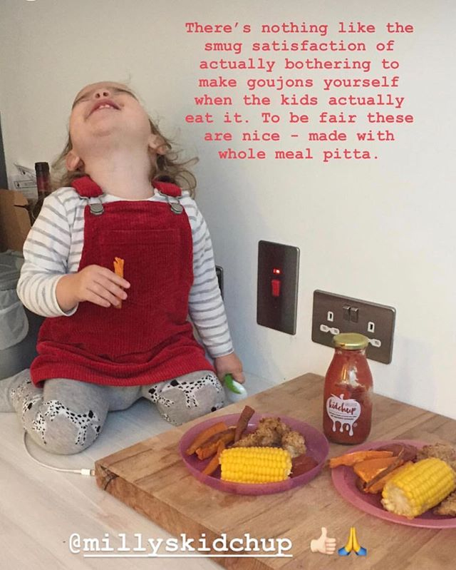 Kidchup in full effect @katielittledigital👌🏻! Thank you for sharing all your pics this week, helped me through the first half of it when I was missing the kid loads and packing orders 24/7. Hope you've had a good one, happy Friday ❤️❤️❤️ . . . . . .  #healthylifestyle #kidchup #foodie #eatwell #motherhoodunplugged #noaddedsugar #smallbusiness #naturalingredients #foodforkids #nutrition #toddlerfood  #familyfood #kidsfood  #healthykids #ketchup #ketchuplover #healthyeating #healthyfamilyfood #healthymums #kidshealth #mumboss #noaddedsalt #cookingwithkids #healthykidscommunity #sugarfreekids #norefinedsugar