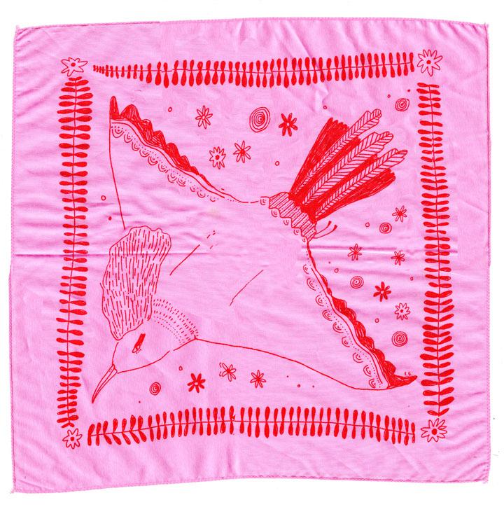 bird handkerchief